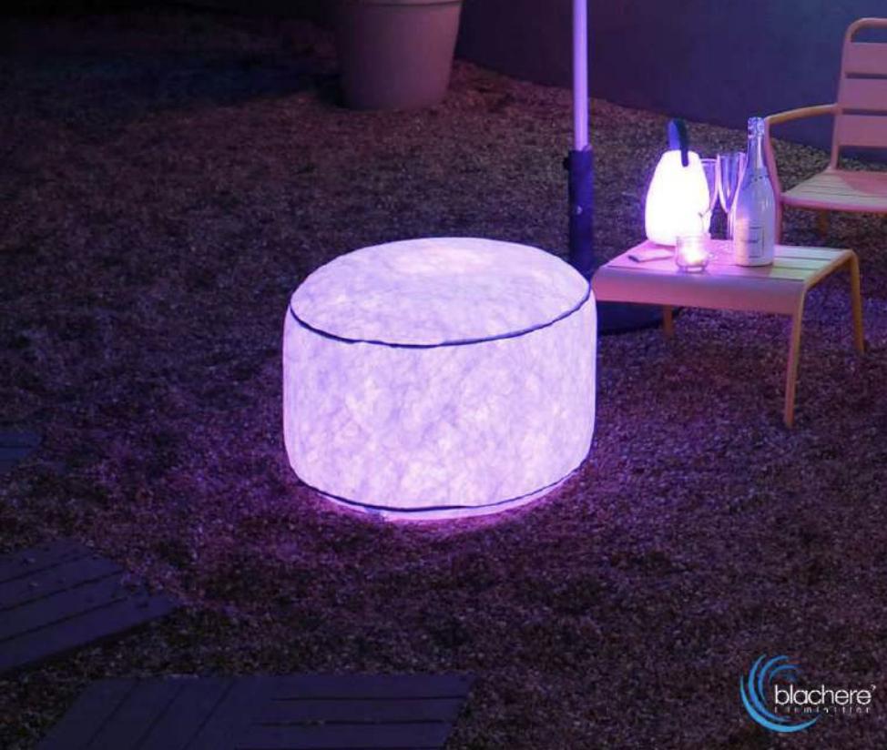 Kültéri nyári fénydekoráció felfújható lámpa